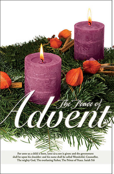 """Peace of Advent"" Bulletin - Advent Series"