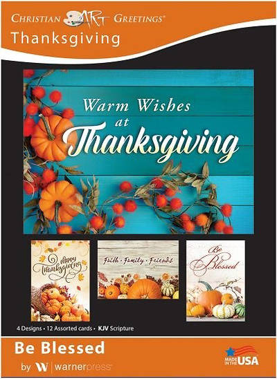Be Blessed Thanksgiving Boxed Cards
