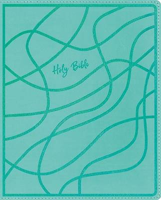 Picture of Niv, Verse Mapping Bible for Girls, Leathersoft, Teal, Comfort Print