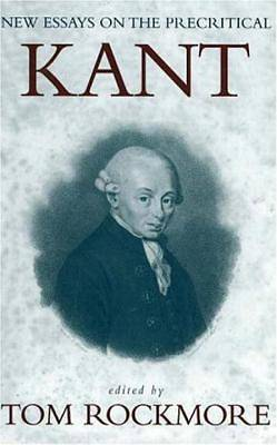 New Essays on the Precritical Kant