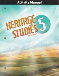 Heritage Studies Grade 5 Student Activities Manual 3rd Edition