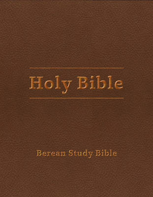 Picture of Berean Study Bible (Tan Leatherlike)