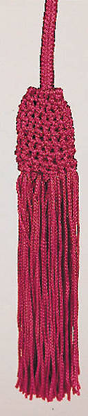 Roman Purple Cincture with Tassel, 4 Yards