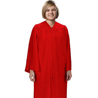 Picture of Cambridge Red Confirmation Robe - Small