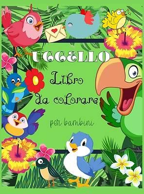Picture of Uccello Libro da colorare per bambini