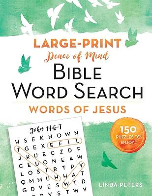 Picture of Peace of Mind Bible Word Search