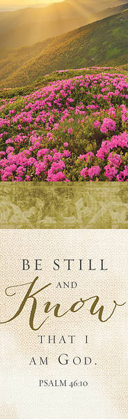 Picture of Be Still and Know That I am God  Bookmark