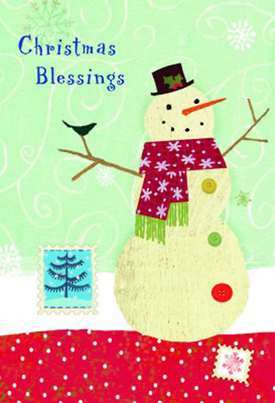 Christmas Blessings Boxed Card Box of 18