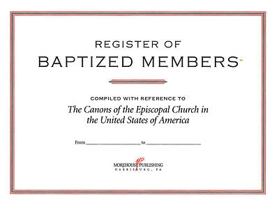 Picture of Register of Baptized Members #82