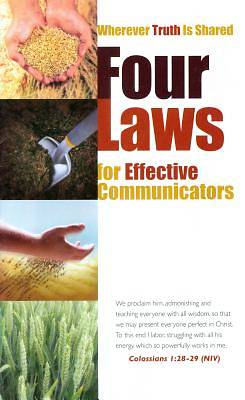 Picture of Four Laws for Effective Communicators