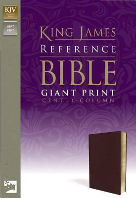 Bible KJV Reference Center Column Giant Print