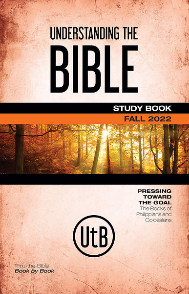 Bible-in-Life Adult Understanding the Bible Student Book Fall