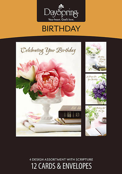 Lustrous - Birthday Boxed Cards - Box of 12