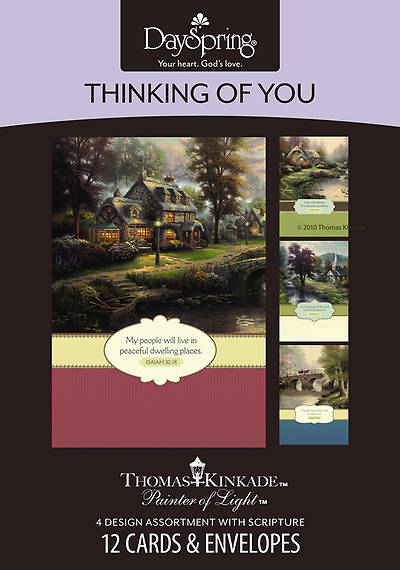 Thomas Kinkade - Thinking of You Boxed Cards - Box of 12
