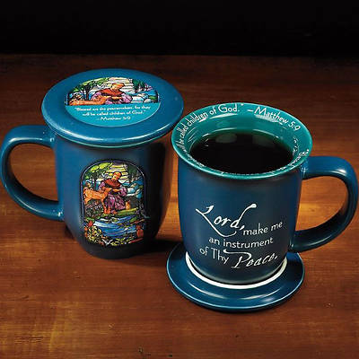Picture of St Francis Coaster Mug