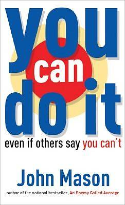 You Can Do It--Even if Others Say You Cant [ePub Ebook]