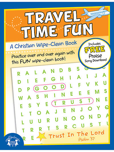 Travel Time Fun Wipe Clean Workbook