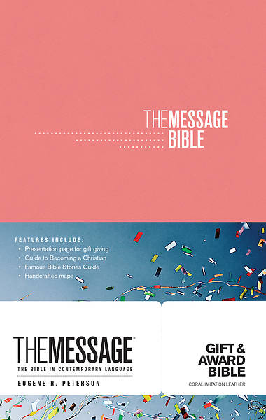 Picture of The Message Gift and Award Bible