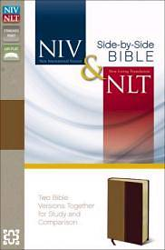 NIV and NLT Side-By-Side Bible