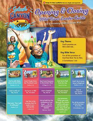 Vacation Bible School (VBS) 2018 Splash Canyon Opening/Closing Guide
