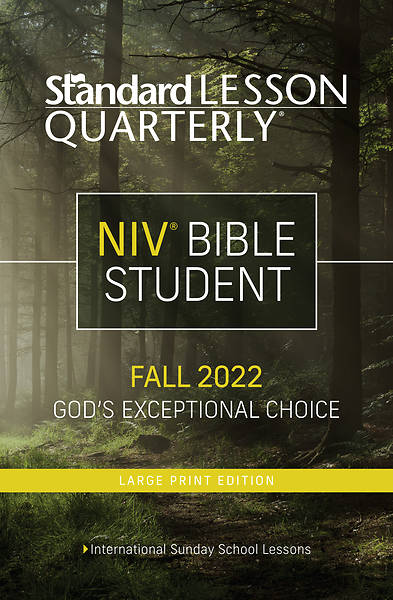 Picture of Standard Lesson Quarterly NIV Student Book Large Print Fall