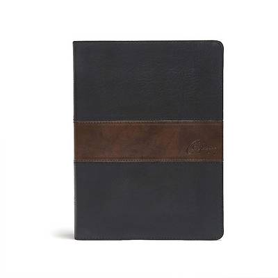 Picture of CSB Spurgeon Study Bible, Black/Brown Leathertouch(r)