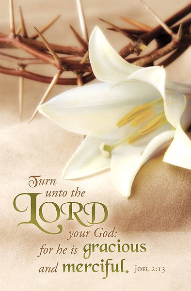 Picture of Turn Unto the Lord Lent Regular Size Bulletin