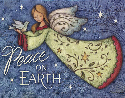 Angel Peace On Earth Boxed Card (Pk 18)