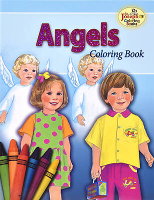 Coloring Book about the Angels
