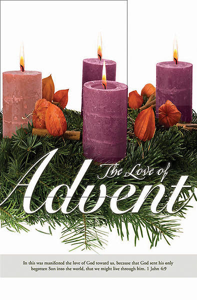 Picture of Love of Advent Bulletin - Advent Series