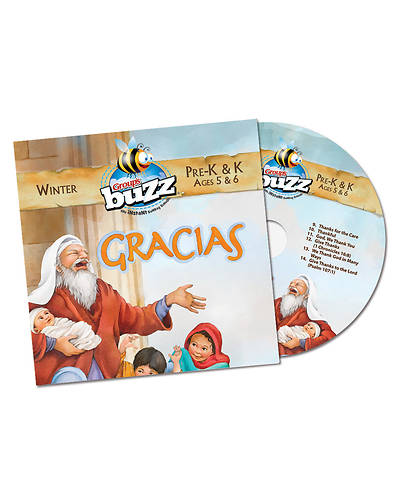Picture of Buzz PreK-K Gracias CD Winter 2020-2021