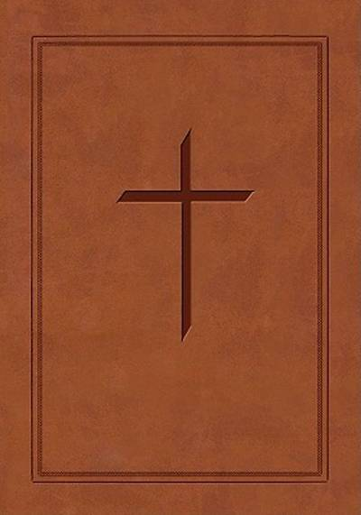 The Ryrie ESV Study Bible Soft-Touch Brown- Red Letter