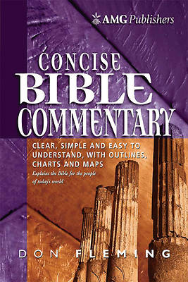 Picture of The AMG Concise Bible Commentary