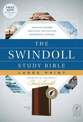 Picture of The Swindoll Study Bible NLT, Large Print