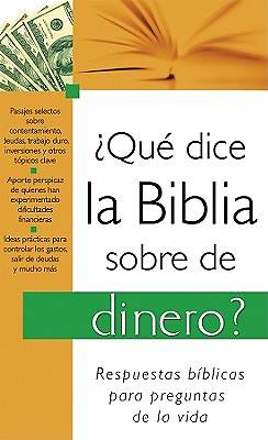 What the Bible Says about Money (Spanish)