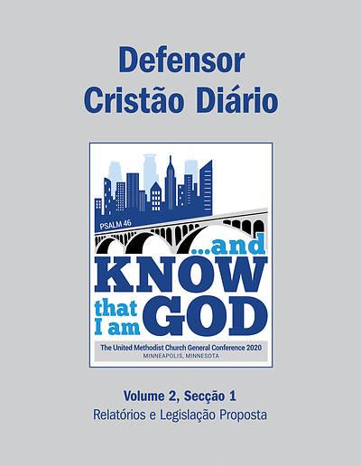 Picture of 2020 Defensor Cristo Dirio Volume 2, Seo 1 - Relatrios e Legislao Proposta