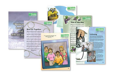 Picture of The Spirit Our Helper (NT) Friendship Adult Take-Home Papers (Full Set)