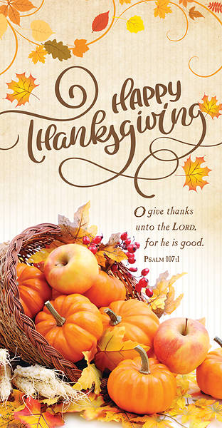 Happy Thanksgiving Offering Envelope