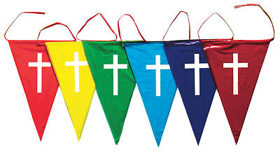 Picture of Vacation Bible School (VBS) Rainbow Pennants