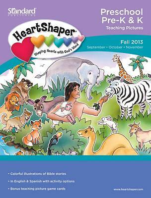 Standard HeartShaper Preschool/PreK Teaching Pictures Fall 2013