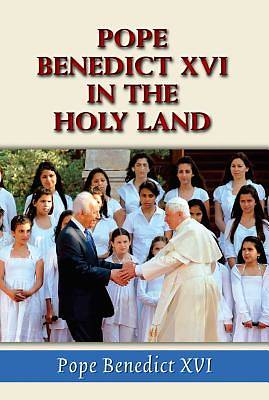 Picture of Pope Benedict XVI in the Holy Land