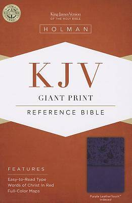 Picture of Giant Print Reference Bible-KJV