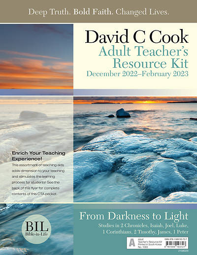 Bible-In-Life Adult Comprehensive Teacher Resource Kit Winter