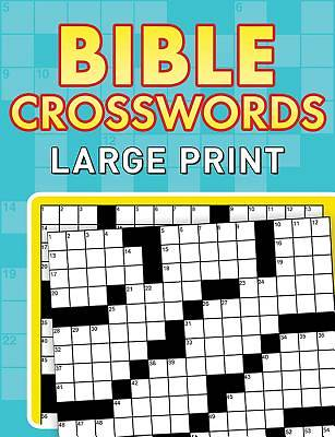 Bible Crosswords--Large Print