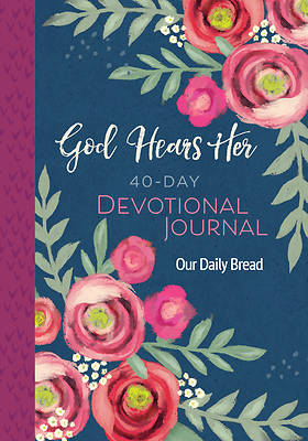 Picture of God Hears Her 40-Day Devotional Journal