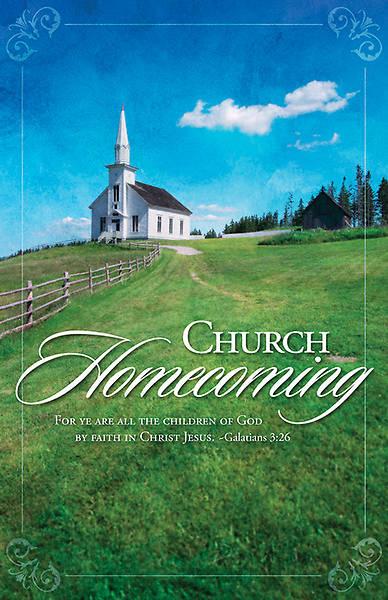 Church Homecoming Bulletin - Pack of 100 | Cokesbury