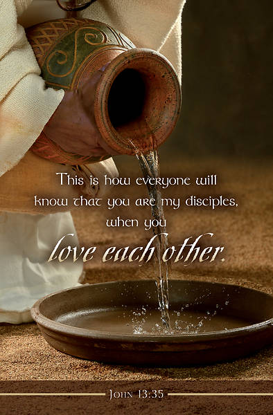 Picture of Love Each Other Maundy Thursday Bulletin (Pkg of 50)