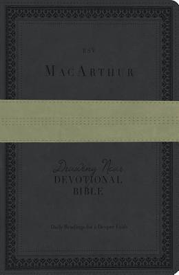 MacArthur Drawing Near Devotional Bible - ESV