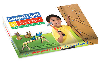 Gospel Light Pre-K & K Kit Fall 2016