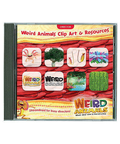 Group VBS 2014 Weird Animals Clip Art & Resources CD